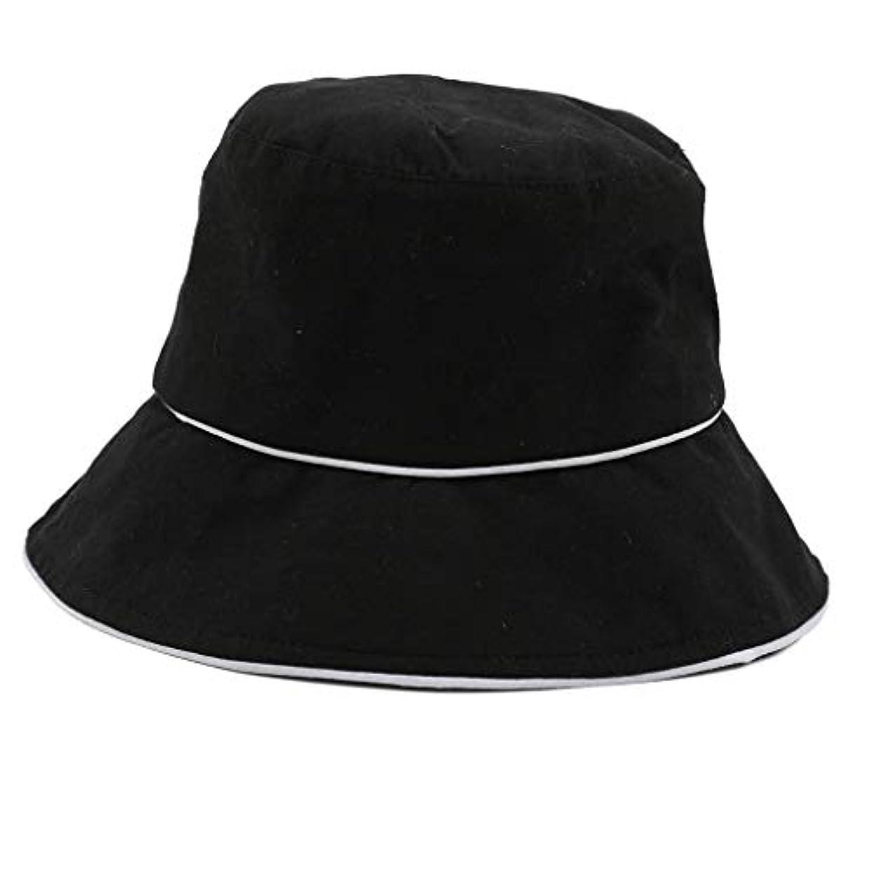 雷雨メイト悲観主義者ROSE ROMAN - 帽子 レディース uv 漁師の帽子 99%uvカット 小顔効果抜群 帽子 サイズ調整 テープ キャップ 黒 漁師帽 おしゃれ 可愛い ハット 折りたたみ 紫外線対策 ファッション ワイルド カジュアル...