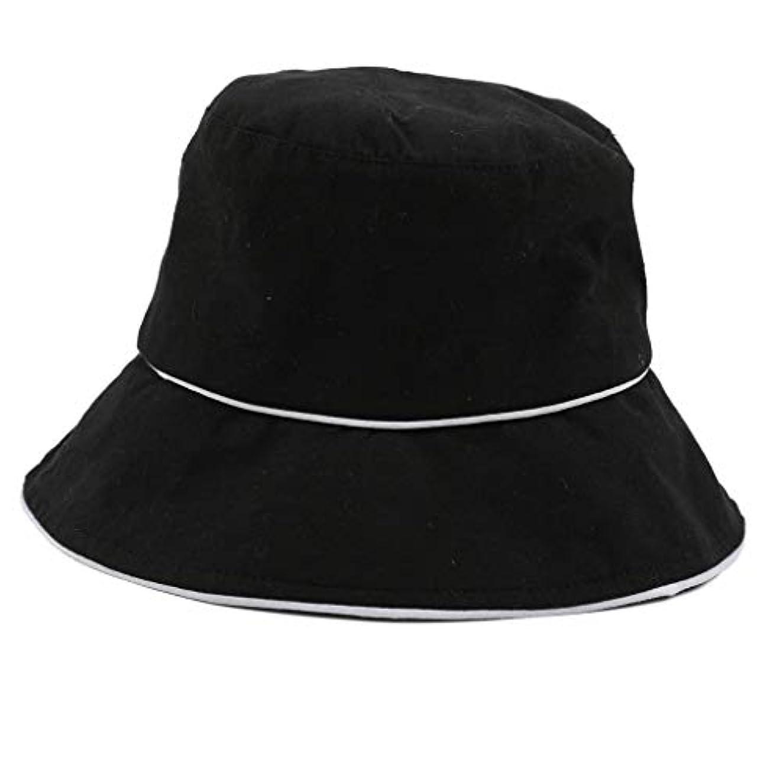 包括的改修プログレッシブROSE ROMAN - 帽子 レディース uv 漁師の帽子 99%uvカット 小顔効果抜群 帽子 サイズ調整 テープ キャップ 黒 漁師帽 おしゃれ 可愛い ハット 折りたたみ 紫外線対策 ファッション ワイルド カジュアル...