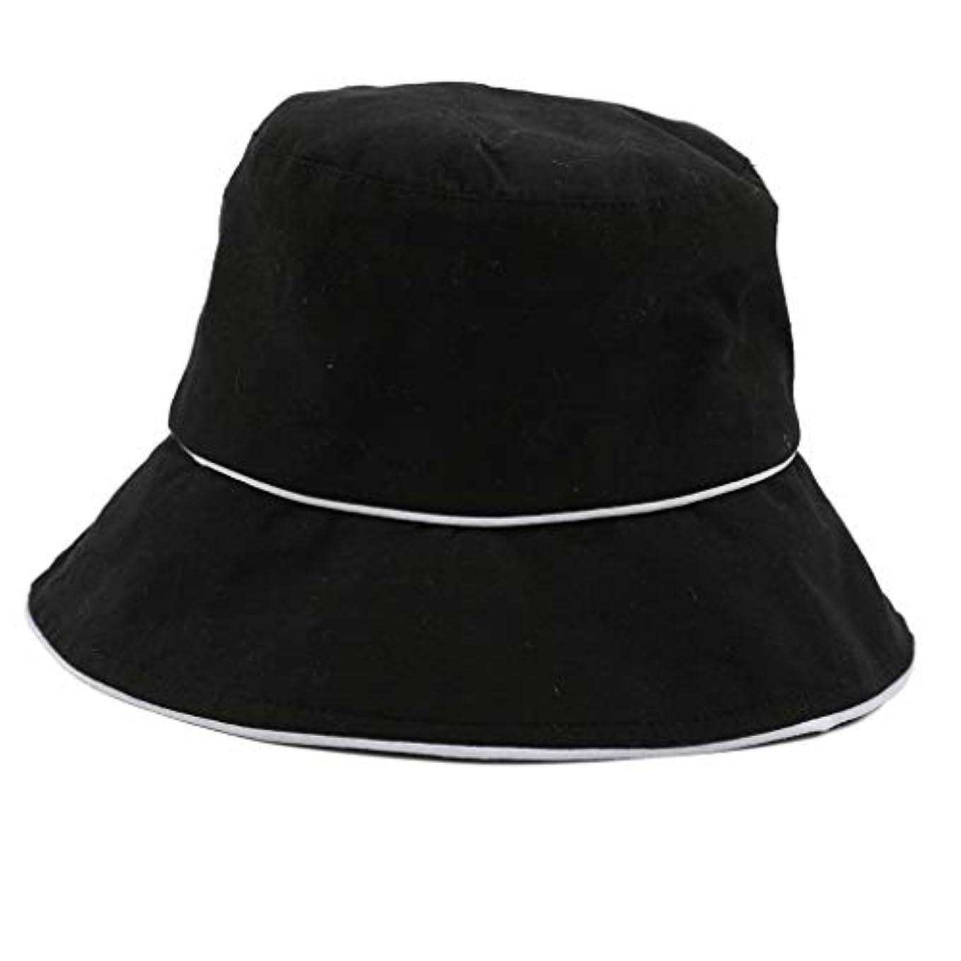 混合した高い裏切りROSE ROMAN - 帽子 レディース uv 漁師の帽子 99%uvカット 小顔効果抜群 帽子 サイズ調整 テープ キャップ 黒 漁師帽 おしゃれ 可愛い ハット 折りたたみ 紫外線対策 ファッション ワイルド カジュアル...