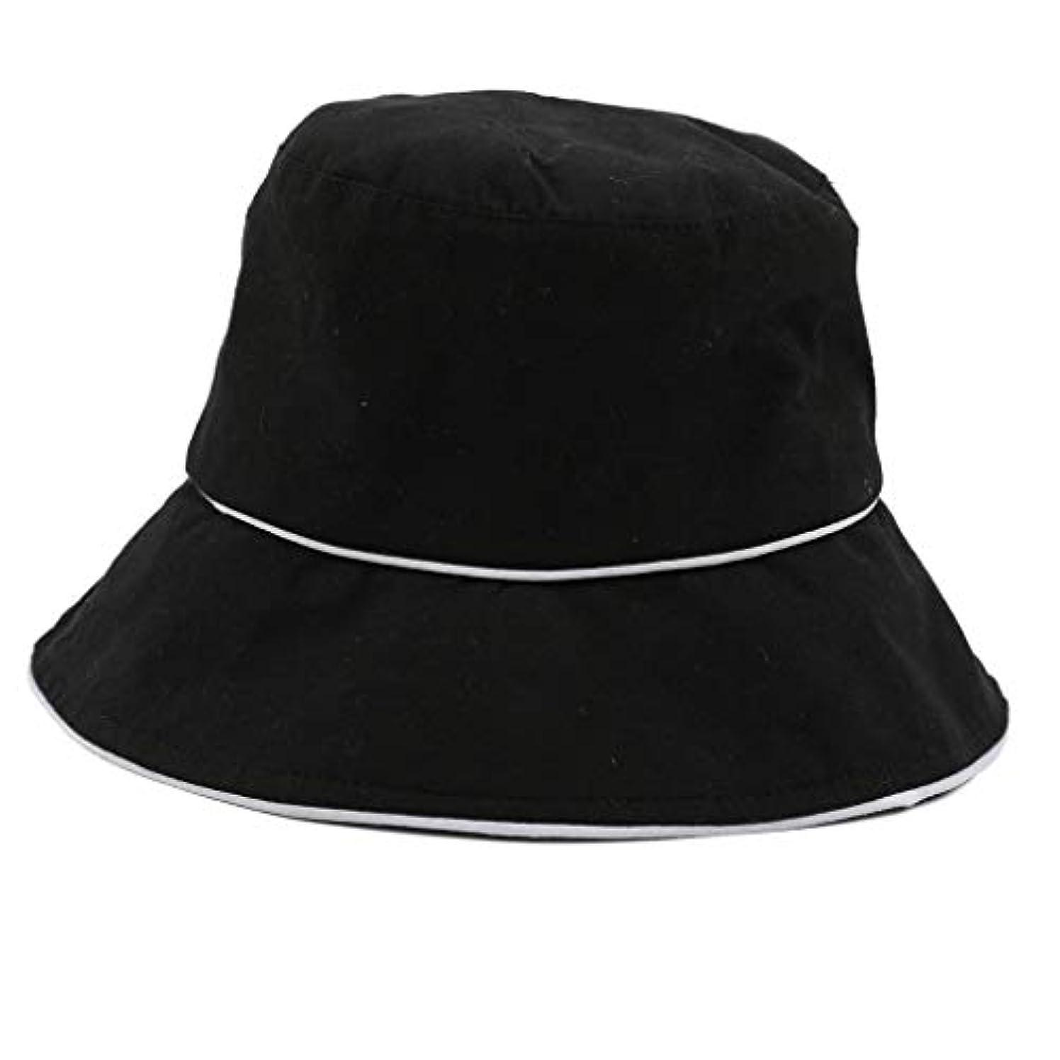 若い抽象化エピソードROSE ROMAN - 帽子 レディース uv 漁師の帽子 99%uvカット 小顔効果抜群 帽子 サイズ調整 テープ キャップ 黒 漁師帽 おしゃれ 可愛い ハット 折りたたみ 紫外線対策 ファッション ワイルド カジュアル...