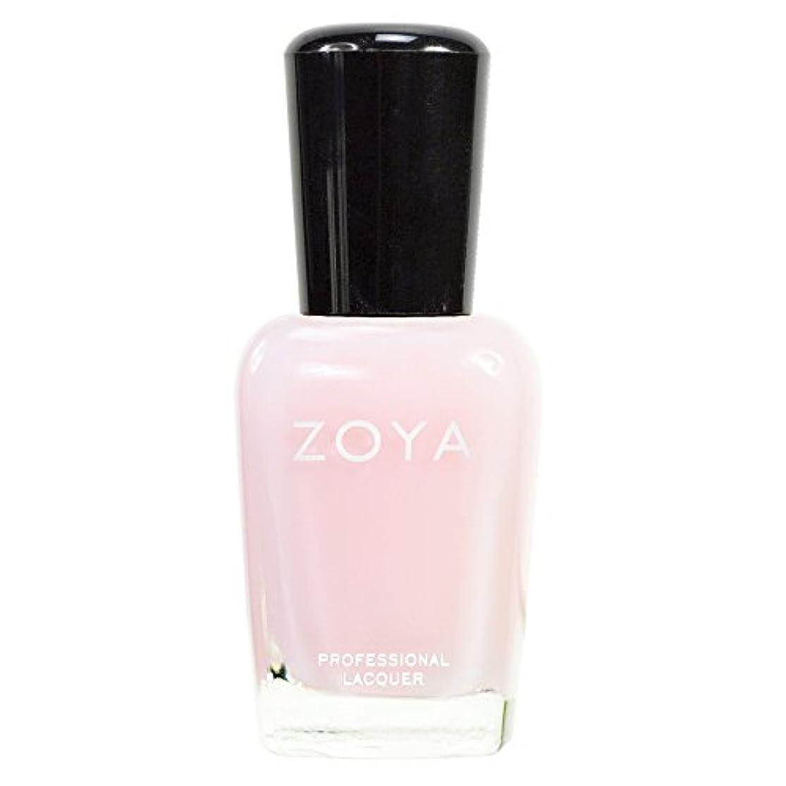 科学的政策五十ZOYA ゾーヤ ネイルカラーZP334(LORETTA) ロレッタ 15ml 透明感のあるベビーピンク シアー?マット/クリーム 爪にやさしいネイルラッカーマニキュア