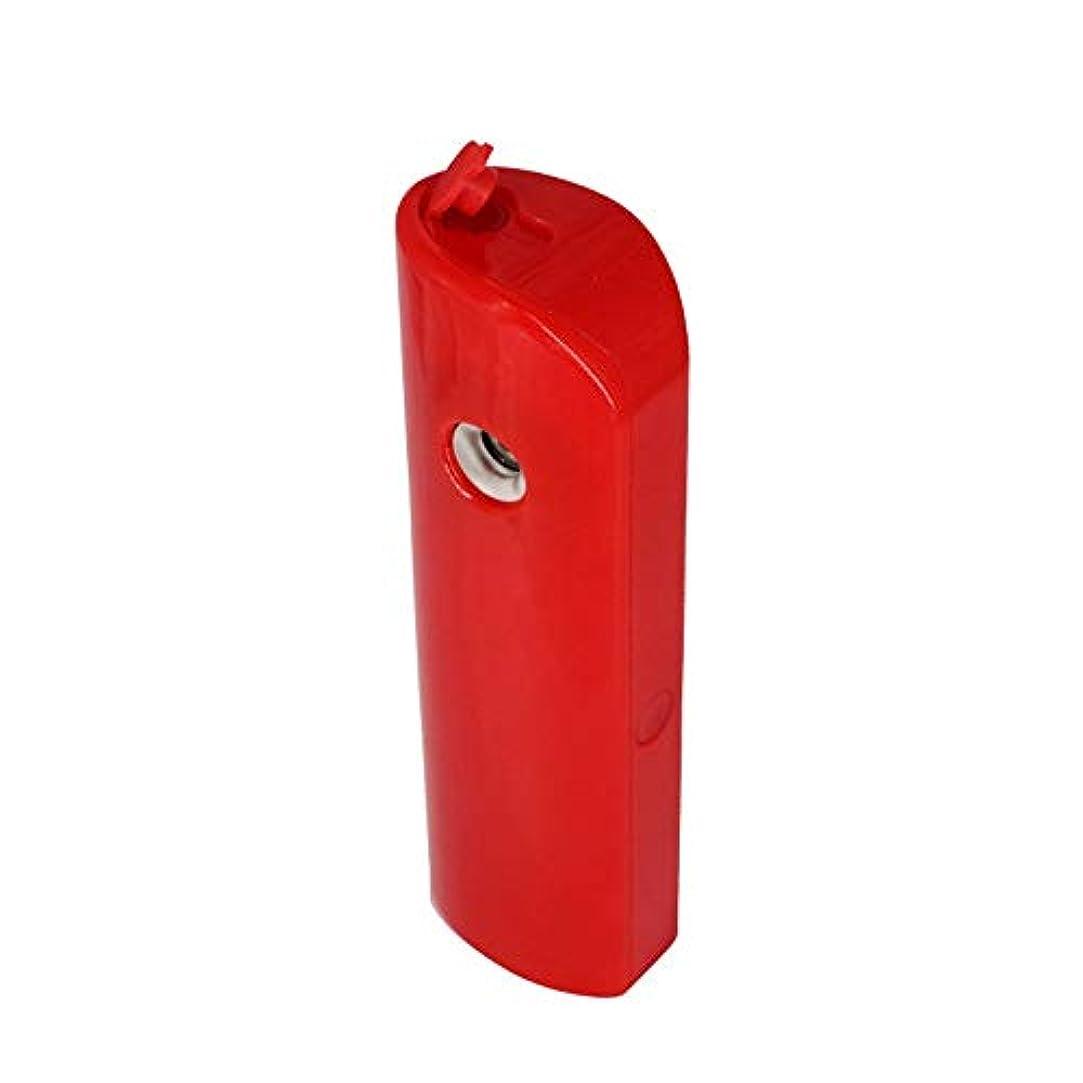 やさしい写真撮影ダルセットZXF 新しいポータブルハンドヘルドabs材料水和機器美容機器顔の加湿スプレー機器ナノマイナスイオン水和機器充電宝物赤 滑らかである
