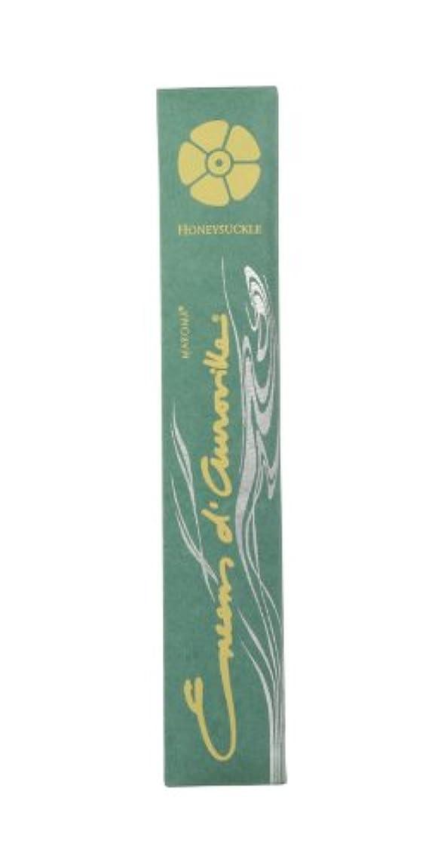 伝記革命的住所Maroma自然Incense Encens d 'aurovilleスイカズラ10 Sticks
