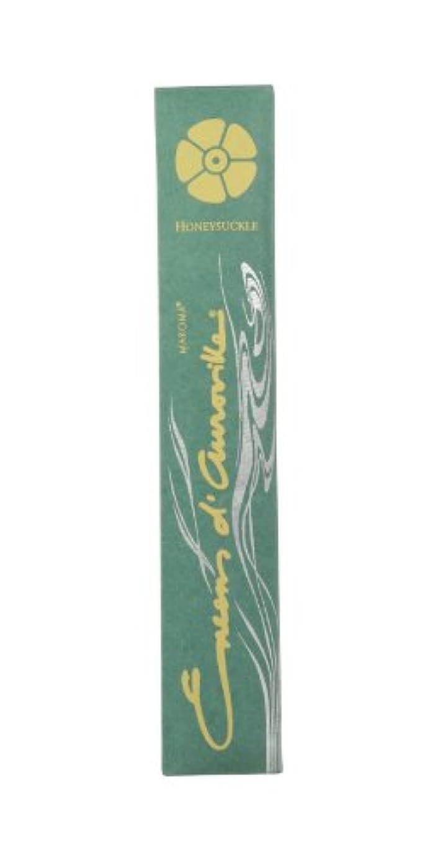 ピストルつぶやき故国Maroma自然Incense Encens d 'aurovilleスイカズラ10 Sticks
