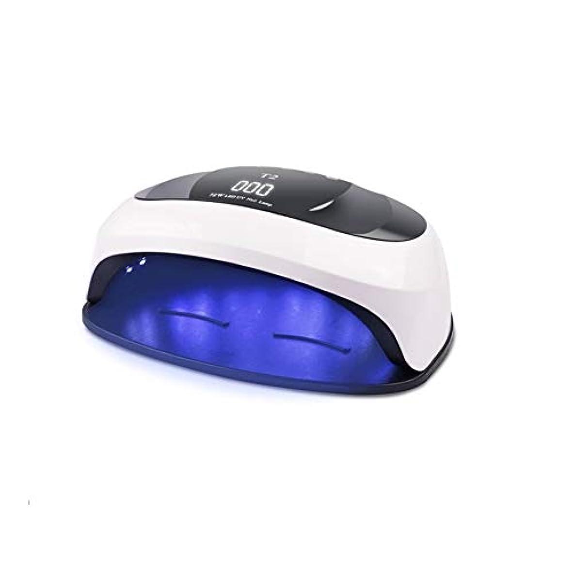 オフ幻影郵便物LittleCat マニキュアプラスチックライトセラピーマシンハンズヒートランプ点灯スマートセンサネイル (色 : U.S. regulations flat plug)