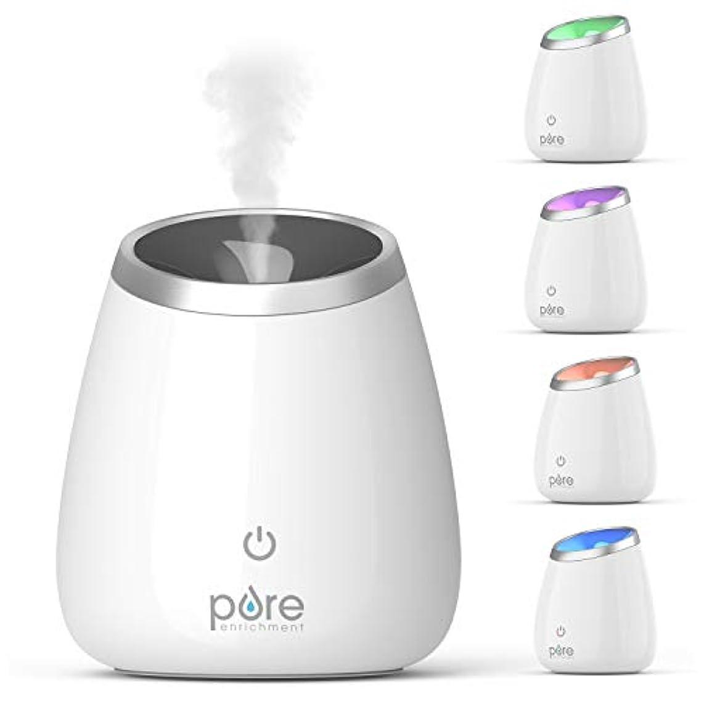 かけるマーティフィールディング塩辛いPure Enrichment PureSpa Deluxe Ultrasonic Aromatherapy Oil Diffuser - 120ml Water Tank, Mood-Boosting Ionizer...
