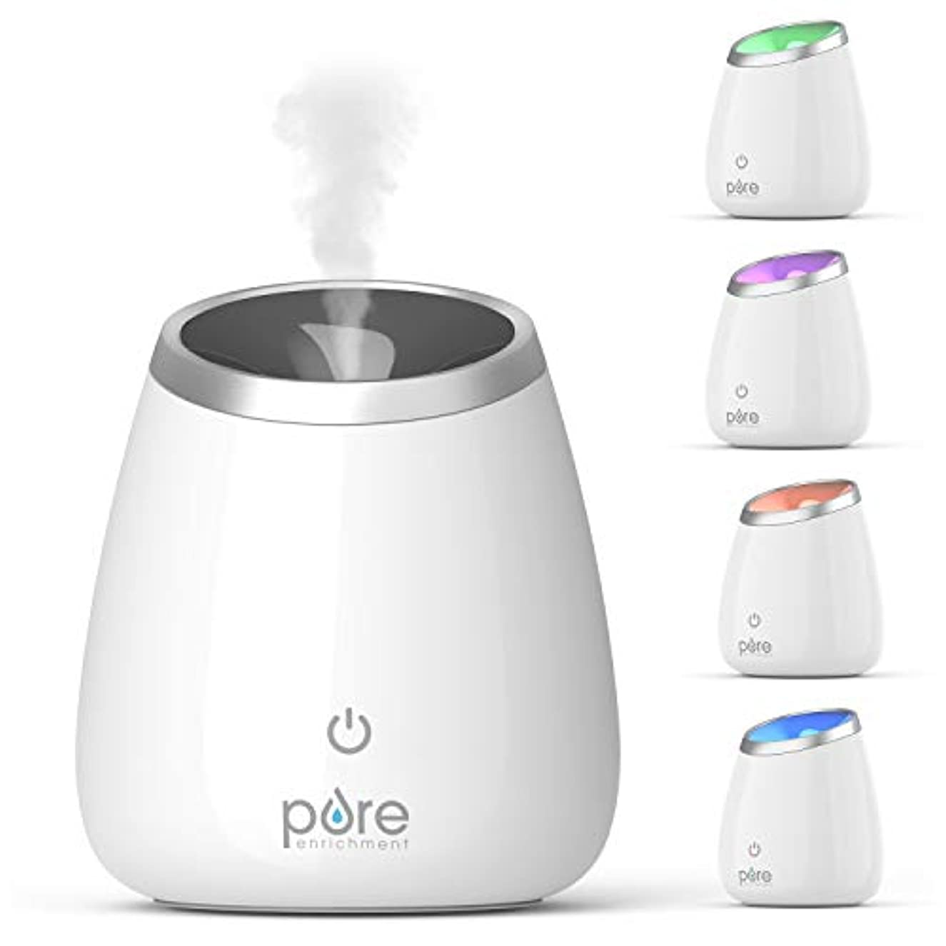 キャンベラ間接的先住民Pure Enrichment PureSpa Deluxe Ultrasonic Aromatherapy Oil Diffuser - 120ml Water Tank, Mood-Boosting Ionizer...