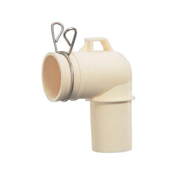 カクダイ 洗濯機トラップ用エルボ 4372 4372の商品画像