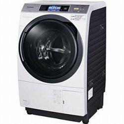 パナソニック 10.0kg ドラム式洗濯乾燥機【左開き】クリスタルホワイトPanasonic エコナビ ナノイー NA-VX9300L-W