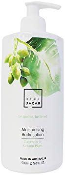 Blue Jacar Moisturising Body Lotion Cucumber & Kakadu Plum, 50