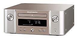 marantz CDレシーバー Bluetooth・Airplay2 ワイドFM対応/ハイレゾ音源対応 シルバーゴールド M-CR612