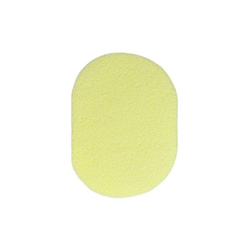 つま先ブラストサイドボードフェイシャルスポンジ <粗目 7mm>(イエロー, 20枚セット) サロン用品 エステ マッサージ 洗顔 クレンジング 拭き取り フェイススポンジ マッサージスポンジ スポンジ