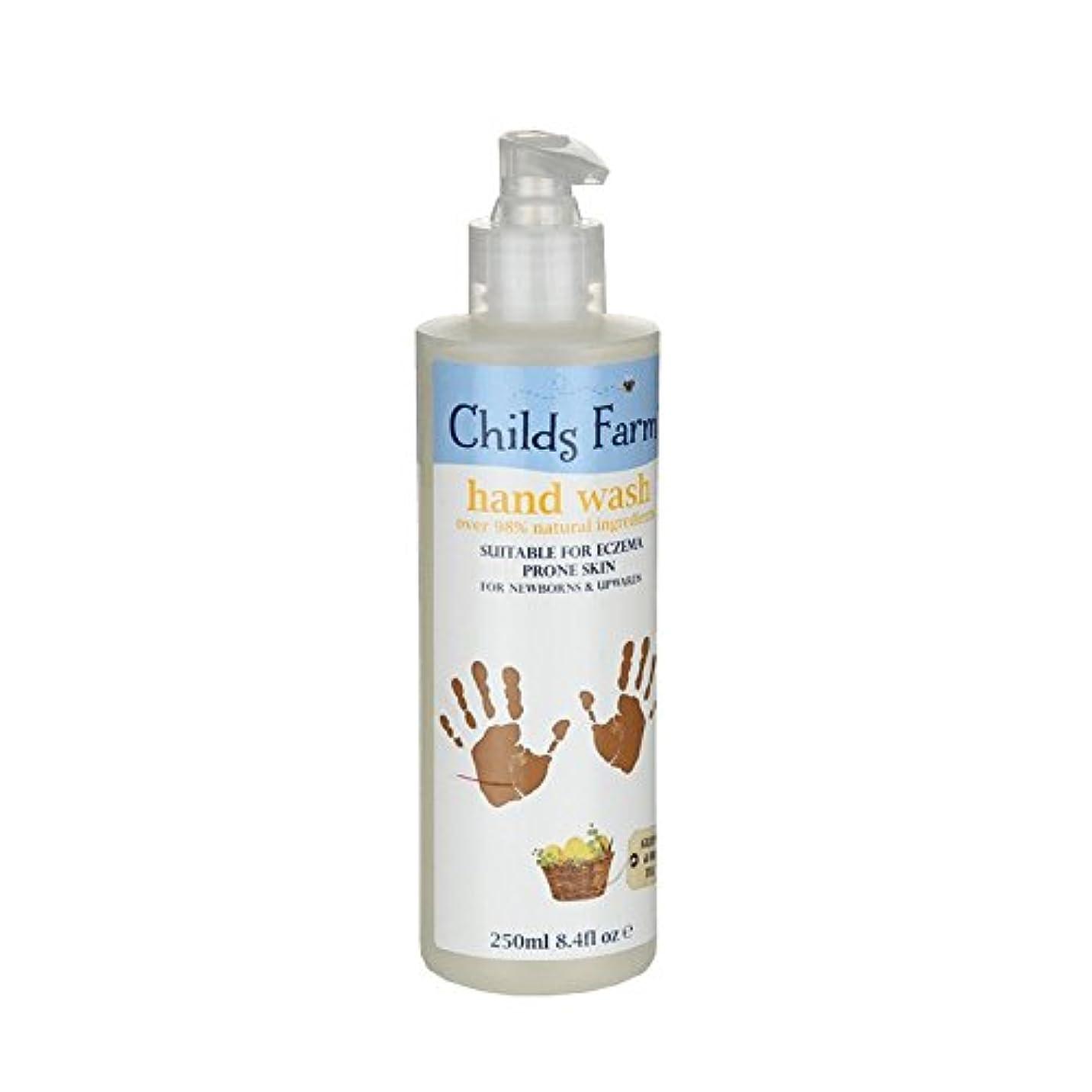 逆に貞楕円形Childs Farm Hand Wash for Mucky Mitts 250ml (Pack of 6) - 汚いミット250ミリリットルのためのチャイルズファーム手洗い (x6) [並行輸入品]