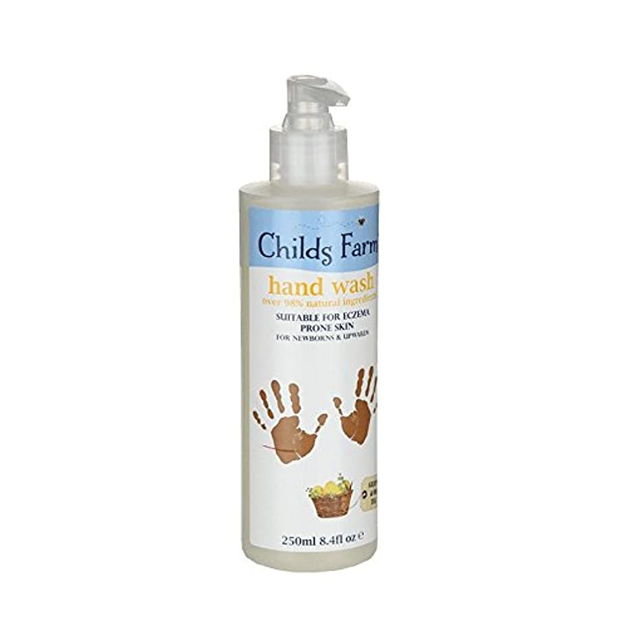 無困惑した植物学Childs Farm Hand Wash for Mucky Mitts 250ml (Pack of 6) - 汚いミット250ミリリットルのためのチャイルズファーム手洗い (x6) [並行輸入品]