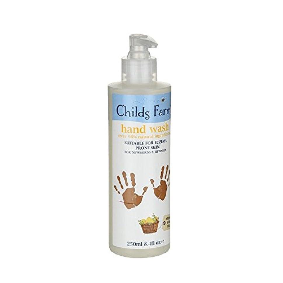 臭い鉄道駅ペナルティChilds Farm Hand Wash for Mucky Mitts 250ml (Pack of 6) - 汚いミット250ミリリットルのためのチャイルズファーム手洗い (x6) [並行輸入品]