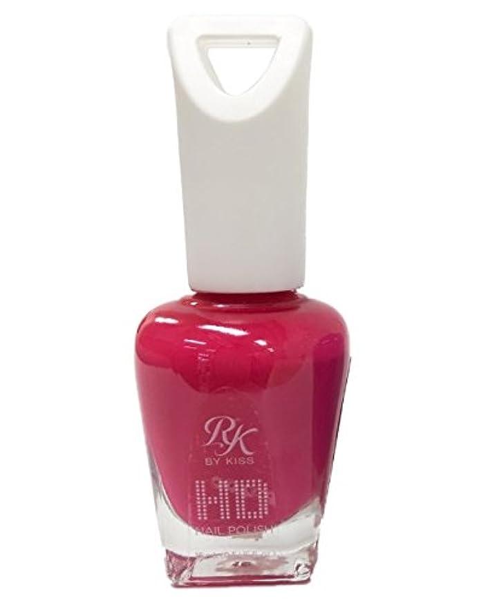 野生暴露署名KISS NEW YORK HDポリッシュ Pink Fusion HDP57J