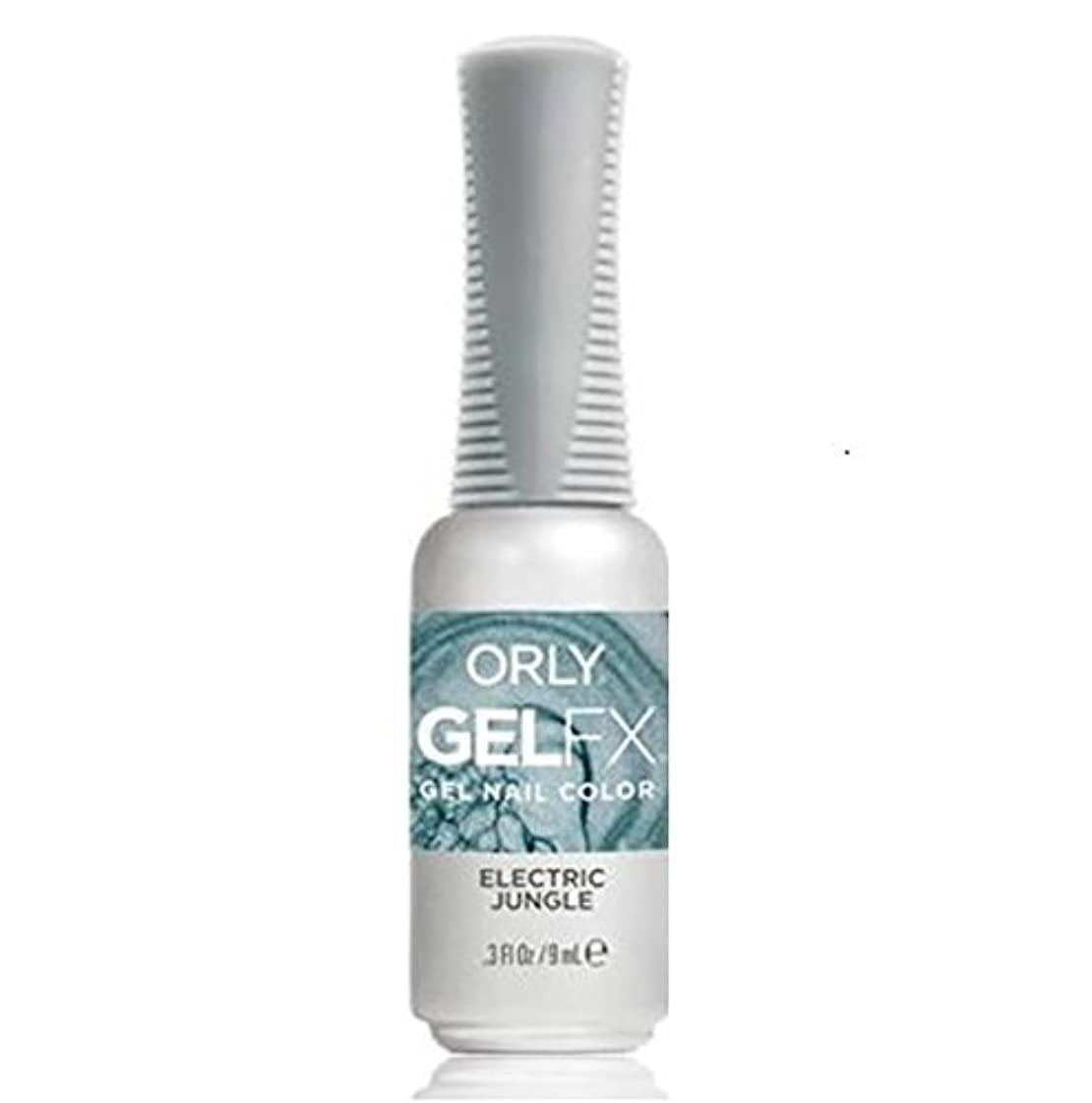 彼女は学習者尊敬するOrly Gel FX - Pastel City Collection Spring 2018 - Electric Jungle - 0.3 oz / 9 mL