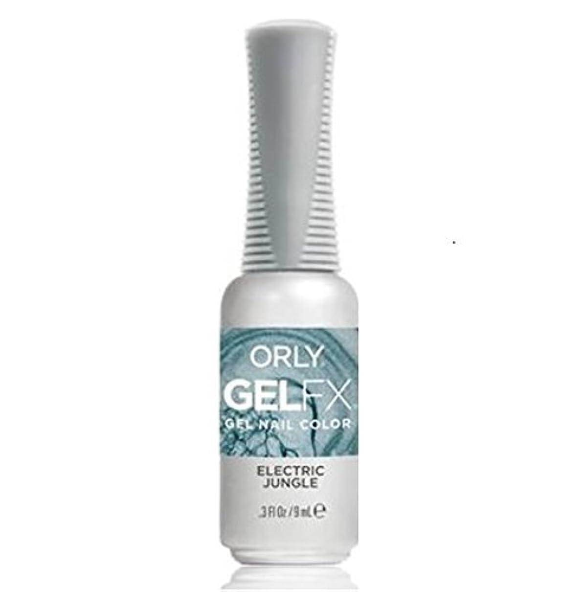 反射この直感Orly Gel FX - Pastel City Collection Spring 2018 - Electric Jungle - 0.3 oz / 9 mL