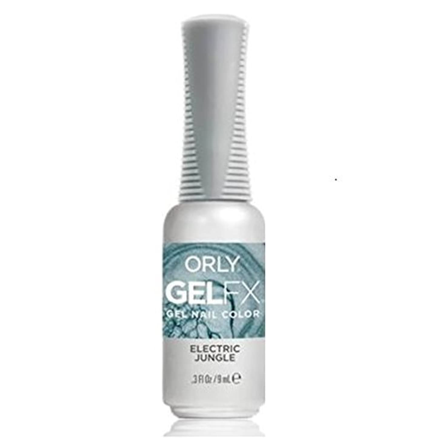 トラックシール発行するOrly Gel FX - Pastel City Collection Spring 2018 - Electric Jungle - 0.3 oz / 9 mL