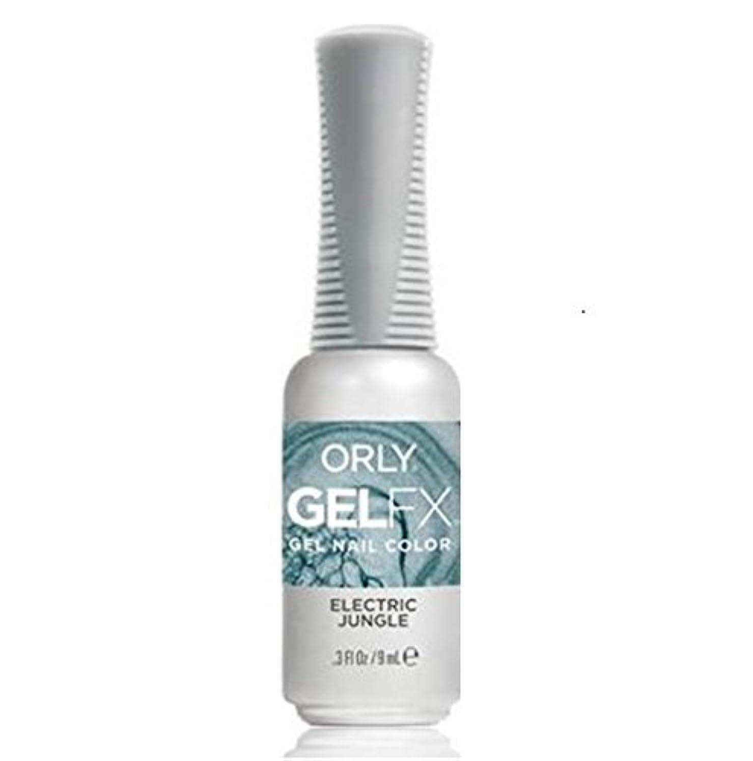 ダース頑張る残り物Orly Gel FX - Pastel City Collection Spring 2018 - Electric Jungle - 0.3 oz / 9 mL