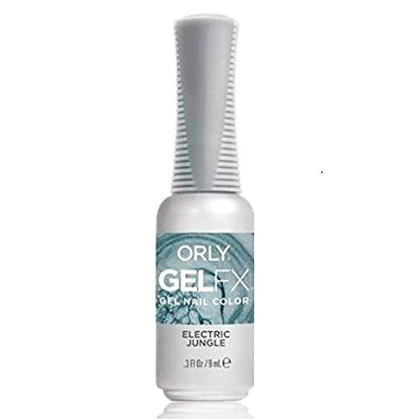 フルーツ野菜引き受ける略すOrly Gel FX - Pastel City Collection Spring 2018 - Electric Jungle - 0.3 oz / 9 mL