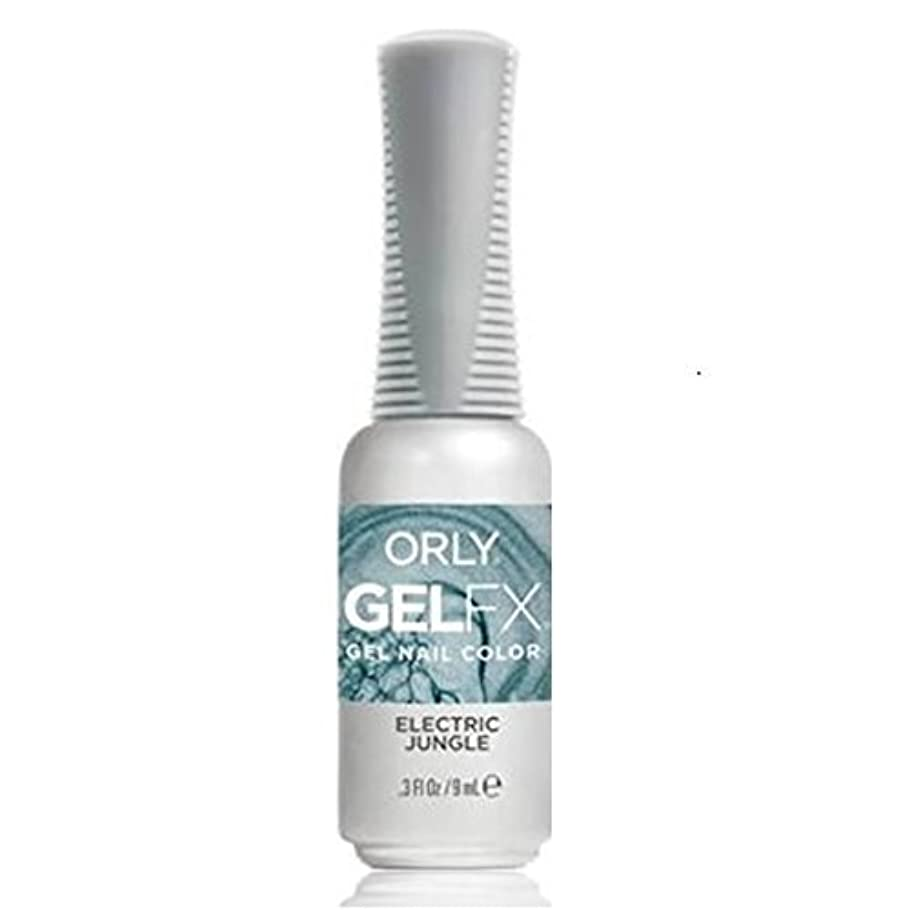 先住民平らな彼のOrly Gel FX - Pastel City Collection Spring 2018 - Electric Jungle - 0.3 oz / 9 mL