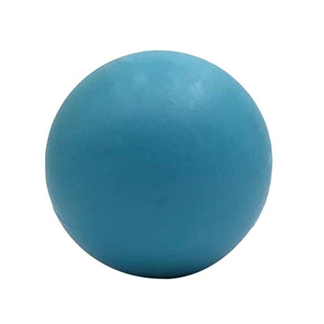 付けるストレスの多い穴マッサージボール ストレッチボール疲れ解消ボール〕 トリガーポイント 筋膜リリース 「 肩/背中/腰/ふくらはぎ/足裏 」 ツボ押しグッズ(ブルー)