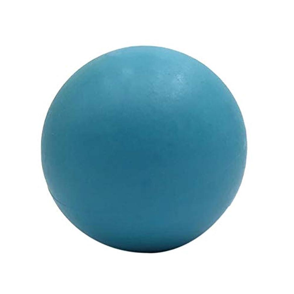 無意識逆さまに希望に満ちたマッサージボール ストレッチボール疲れ解消ボール〕 トリガーポイント 筋膜リリース 「 肩/背中/腰/ふくらはぎ/足裏 」 ツボ押しグッズ(ブルー)