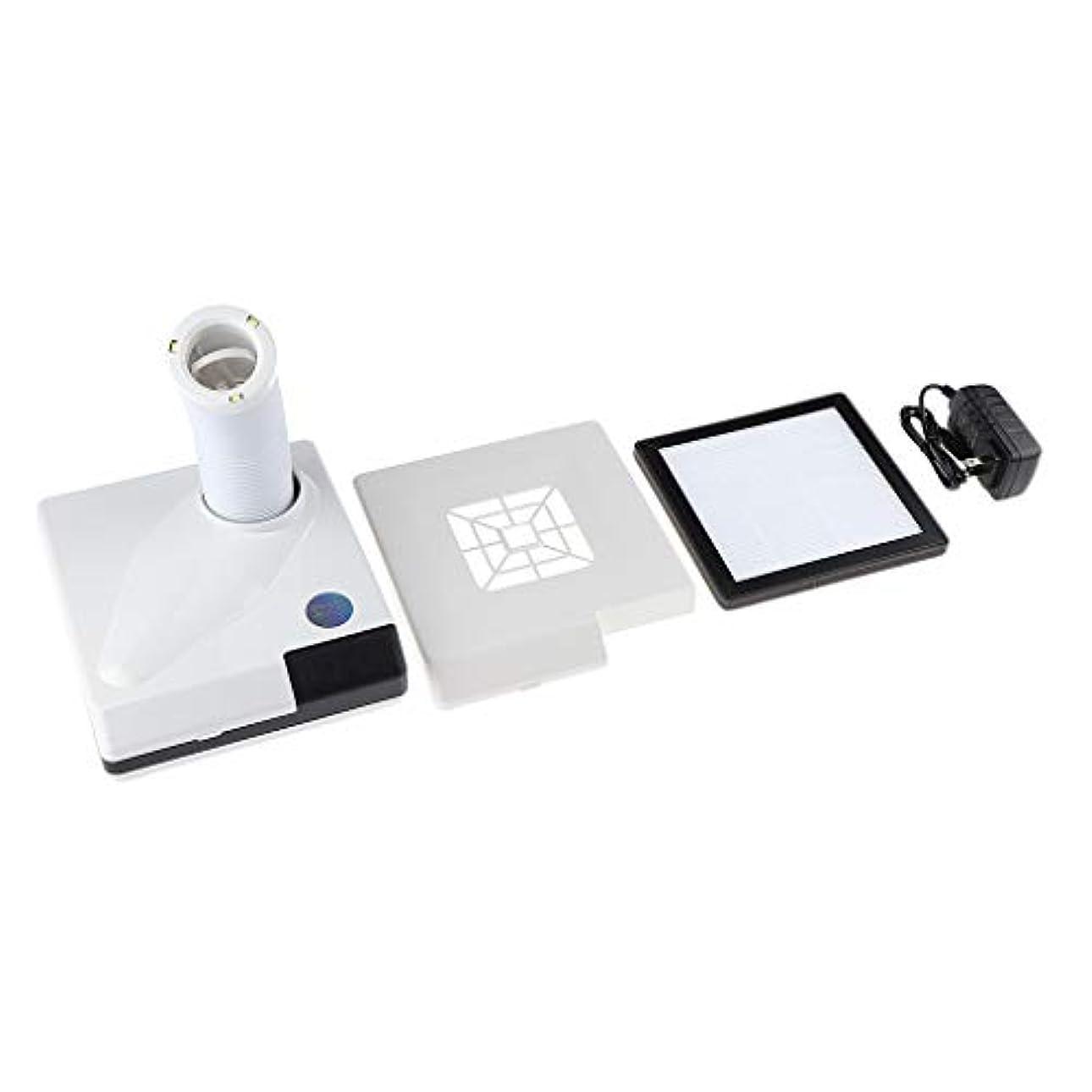 モニター怠感宙返りSM SunniMix ネイルダストコレクター 60W ネイルサロン プロ 吸引クリーナー ファン 全2色 - 白