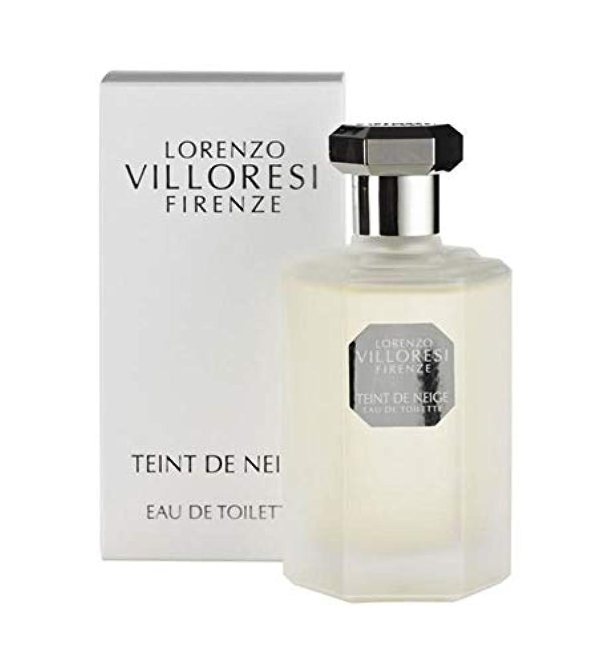 従順なイル流星Lorenzo Villoresi Teint De Neige Eau De Toilette Spray 100Ml