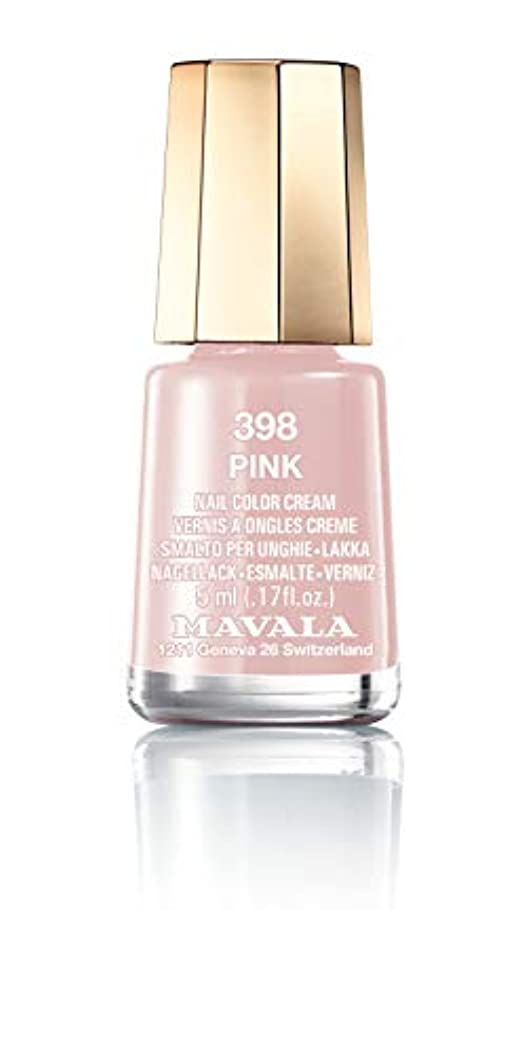 密度同行細部MAVALA マヴァラ ネイルカラー 398 ピンク