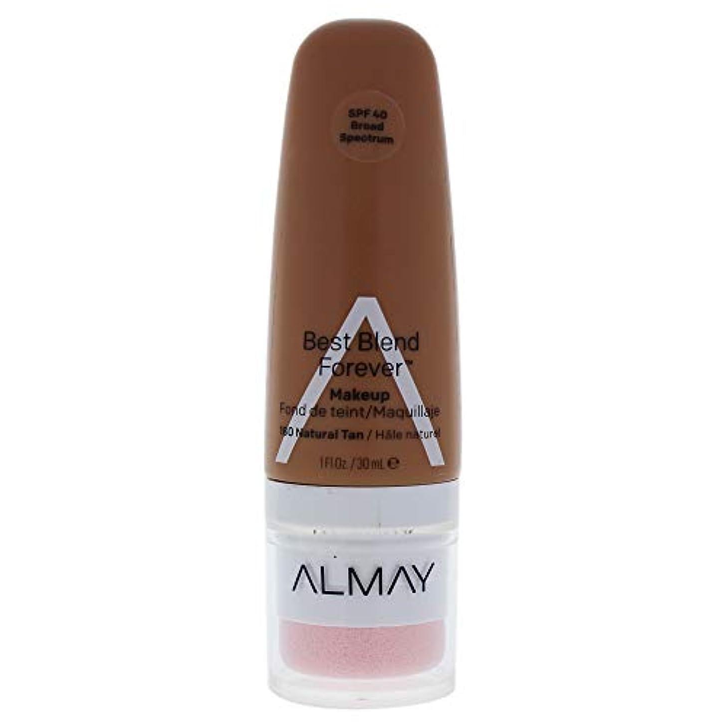 気難しい悲惨な廃止Almay Best Blend Forever, 180 Natural Tan, 30 ml