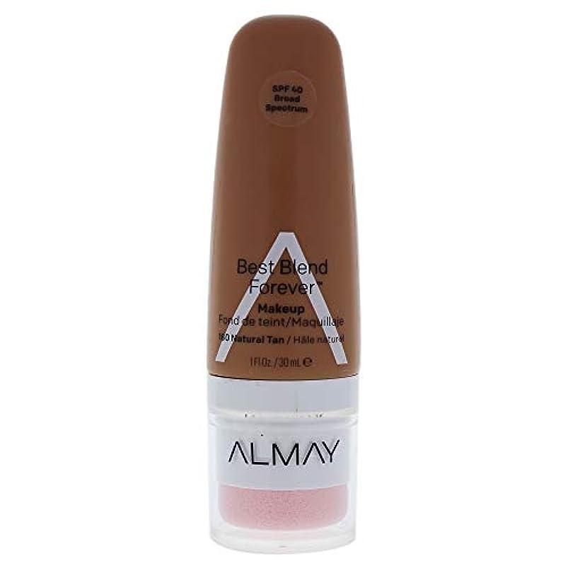 ドレイン巧みな電池Almay Best Blend Forever, 180 Natural Tan, 30 ml