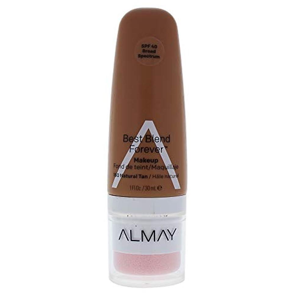 収束する何でもモンクAlmay Best Blend Forever, 180 Natural Tan, 30 ml