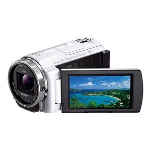 ソニー デジタルHDビデオカメラレコーダー Handycam PJ540 ホワイト HDR-PJ540/W