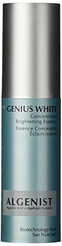 フレキシブル体操選手穀物アルゲニスト GENIUS WHITE Concentrated Whitening Essence ジーニアス ホワイト コンセントレイト ホワイトニング エッセンス 30ml/1oz