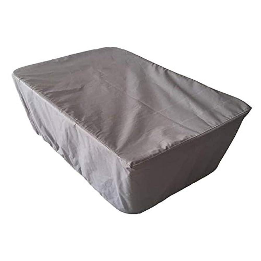 波スクリーチ結論ZEMIN ターポリンタープ 庭園 家具 カバー 保護 装置 余暇 ターポリン 耐寒性 コンサバトリー コーナー防塵 210D オックスフォード布、 カスタマイズ可能、 12サイズ (色 : Gray, サイズ さいず : 308x138x98cm)