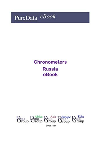 Chronometers in Russia: Market Sales (English Edition)
