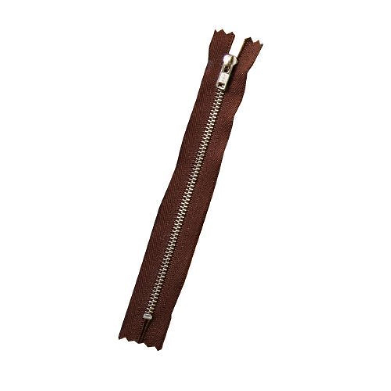 クラフト社 ファスナー10cm 焦茶N 8781-02
