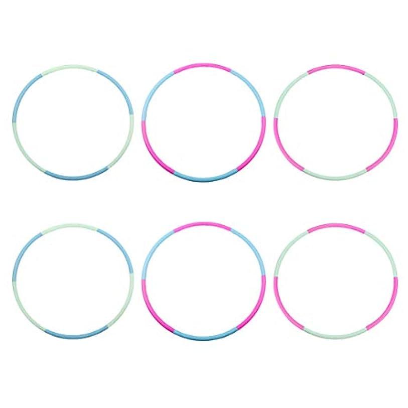 音声学脱走硬化するLiberry Hula Hoop for Kidsセット、取り外し可能&サイズ調整可能デザイン、子供Professionalフラフープ
