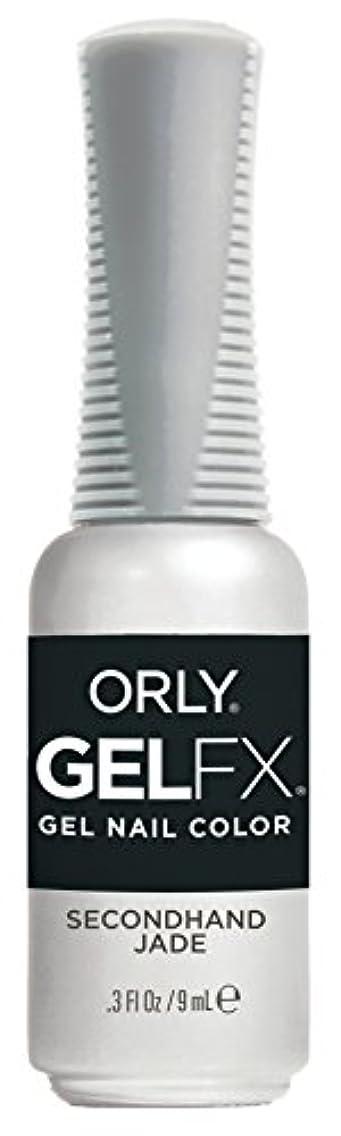 リーク手数料回転Orly Gel FX - Darlings of Defiance Collection - Secondhand Jade - 0.3 oz / 9 mL