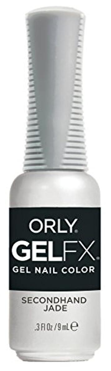 に渡って膨らみ権利を与えるOrly Gel FX - Darlings of Defiance Collection - Secondhand Jade - 0.3 oz / 9 mL