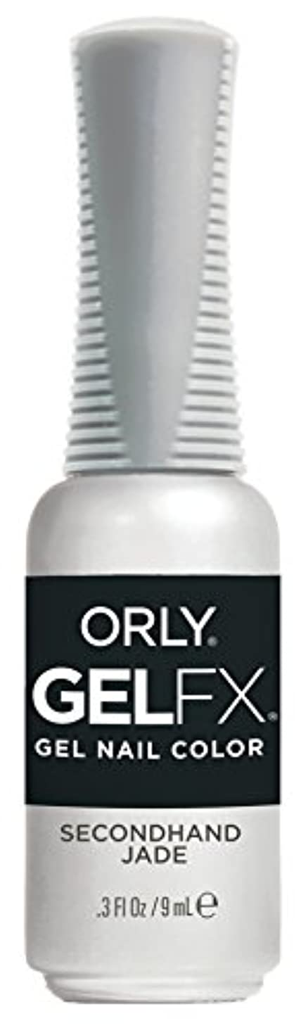 Orly Gel FX - Darlings of Defiance Collection - Secondhand Jade - 0.3 oz / 9 mL
