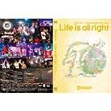 """ゴールデンボンバー LIVE DVD 「""""Life is all right"""" 追加公演(2011/5/17@TOKYO DOME CITY HALL )」通常盤"""