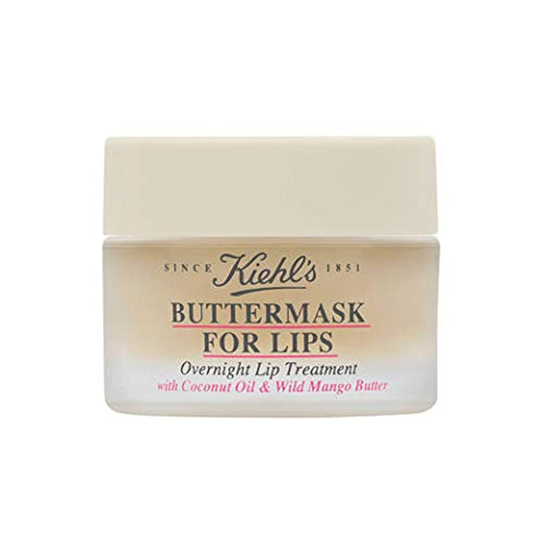 ジャーナリスト混合百年Kiehl's (キールズ) 唇用バターマスク 一晩のリップトリートメント 8g