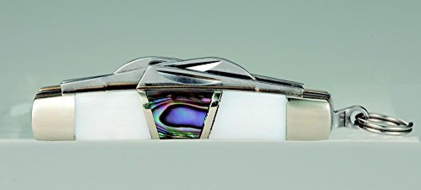 嫌いライオネルグリーンストリートタイムリーなシークレットベース マイクロサイズ フォールディングナイフ ネックレス