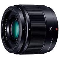Panasonic 単焦点レンズ マイクロフォーサーズ用 ルミックス G 25mm/ F1.7 ASPH. ブラック H-H025-K