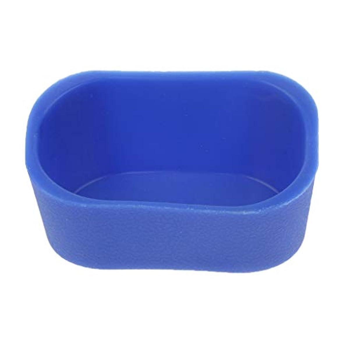 論争的駐地隠すシャンプーボウル ピロー ネックレス クッション 高品質 5色選べ - 青