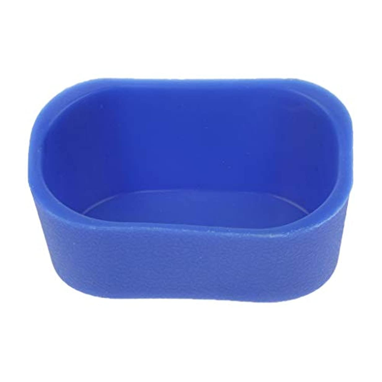 通知する絡まるフェードシャンプーボウル ピロー ネックレス クッション 高品質 5色選べ - 青