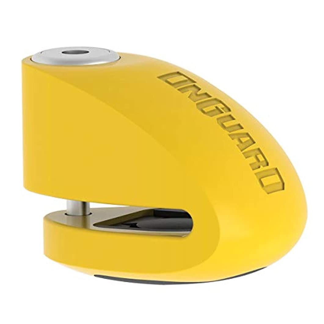 賭けコンデンサー慣れるONGUARD スマートアラーム 自転車ディスクロック - 6mmピン